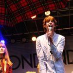 Tonbandgerät beim Festival contre le racisme Köln