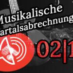 Musikalische Quartalsabrechnung 2/15