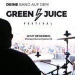 Opener gesucht: Green Juice Festival 2016