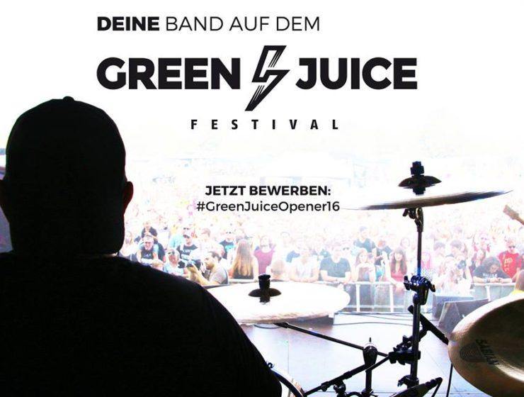 Green Juice Festival Bonn 2016 - jetzt bewerben!