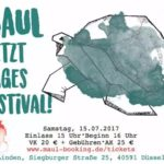 Ankündigung: MAUL, jetzt Tagesfestival! mit Leoniden, EMMA6 u.a.