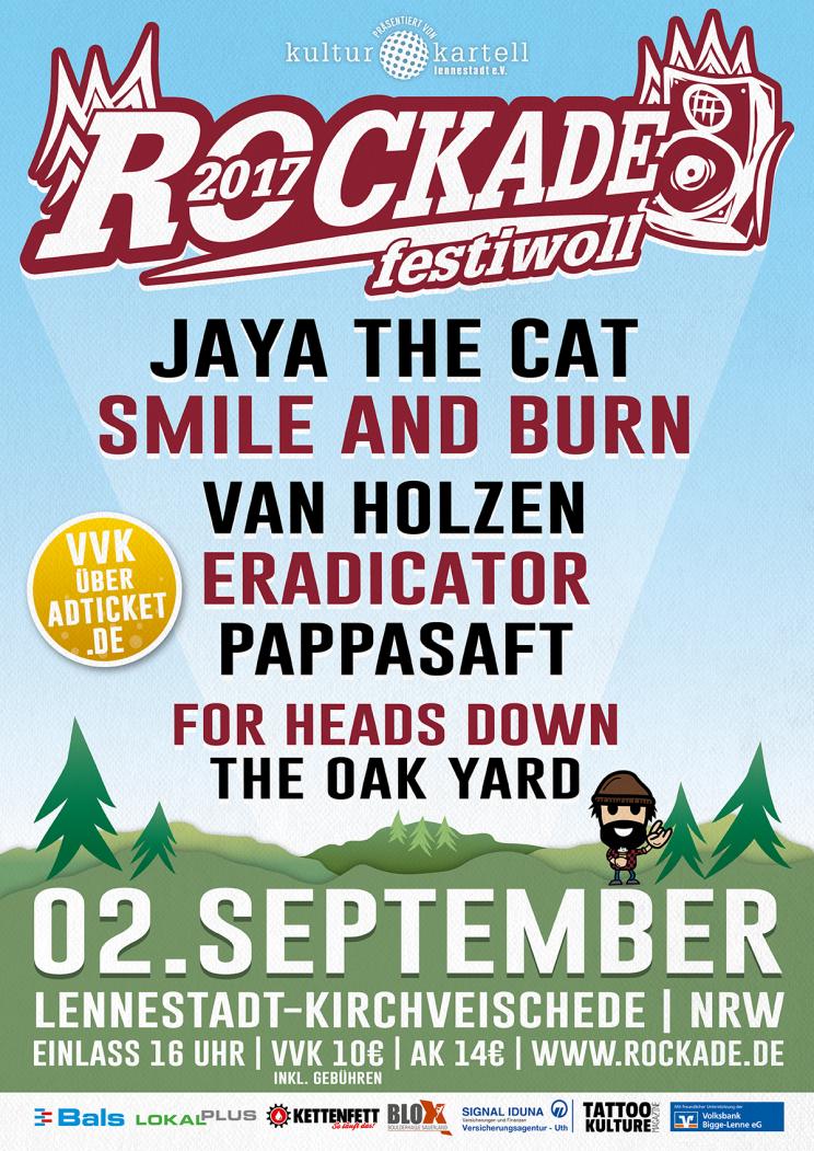 Rockade Festiwoll 2017 Plakat