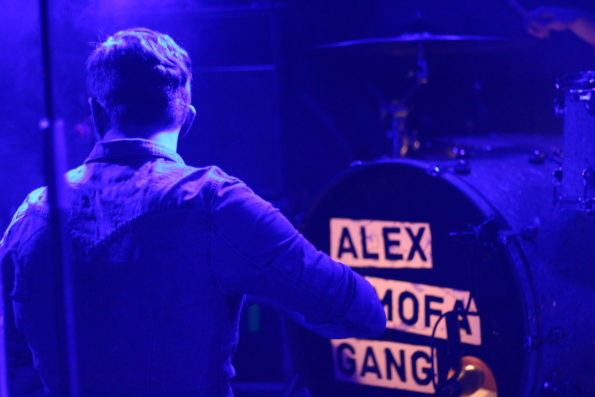 Schallgefluester Alex Mofa Gang LAUT in Berlin