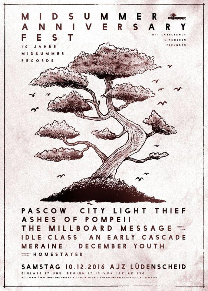 Midsummer Anniversary Fest Plakat