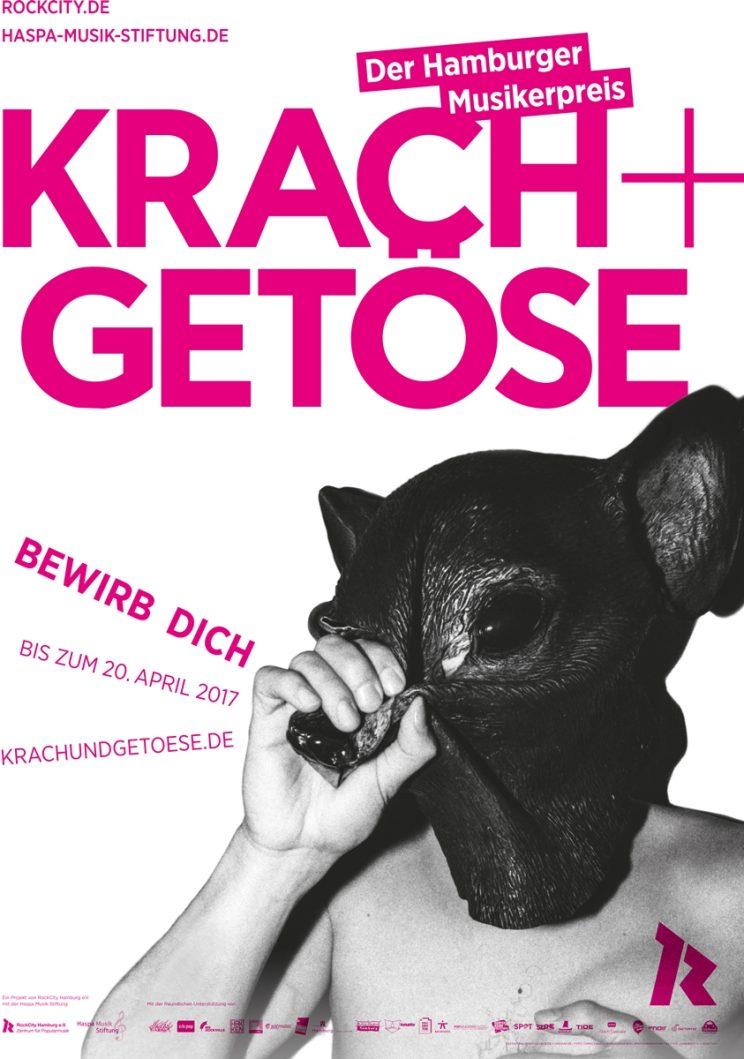 Krach + Getöse 2017 Plakat