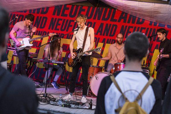 Neufundland Sommerklänge unter den Linden Düsseldorf Schallgefluester Credits Christin Meyer