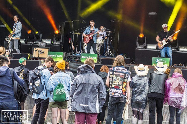 Millennia beim Green Juice Festival 2017 am 19. August 2017 in Bonn | Schallgefluester | Credits: Christin Meyer
