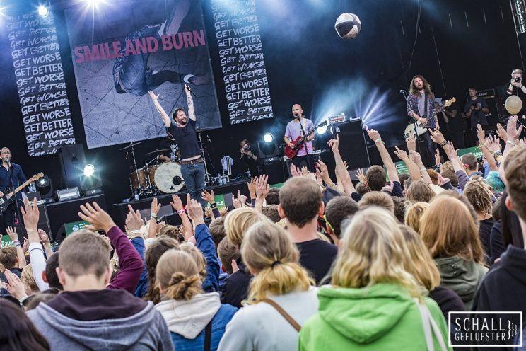 Smile And Burn beim Green Juice Festival 2017 am 19. August 2017 in Bonn | Schallgefluester | Credits: Christin Meyer