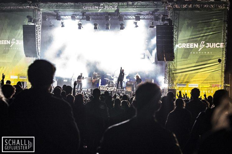 Madsen beim Green Juice Festival 2017 am 19. August 2017 in Bonn | Schallgefluester | Credits: Christin Meyer