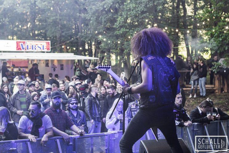 Eradicator beim Rockade Festiwoll am 02. September 2017 in Lennestadt-Kirchveischede | Schallgefluester | Credits: Christin Meyer