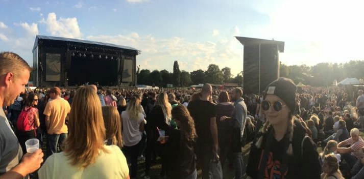 Auf dem Mark Forster TAPE Open Air Dortmund. Credits: KK