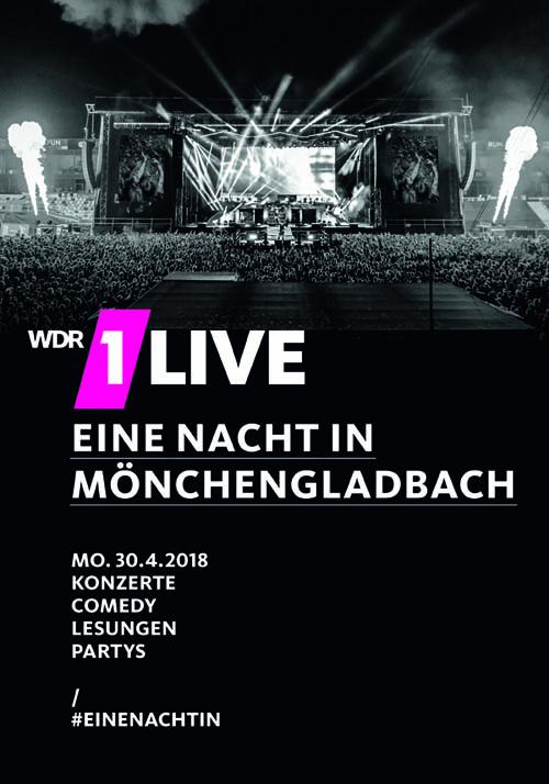 1LIVE Eine Nacht in Mönchengladbach