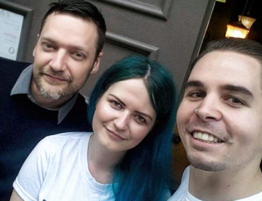 Felix Schönfuss / Tini Schallgefluester / Roman Hartmann Adam Angst Interview 2018